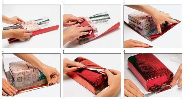 Как правильно упаковывать подарок